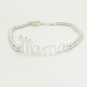 PULSERA MOTHER PLATA DE LEY
